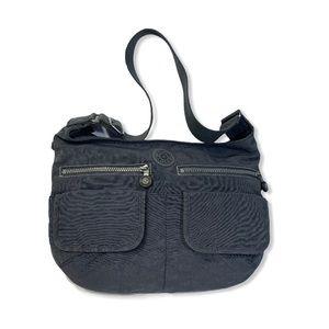 Kipling Crossbody Nylon Shoulder Bag Purse